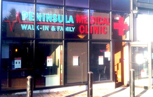 Peninsula Medical Clinic New Location